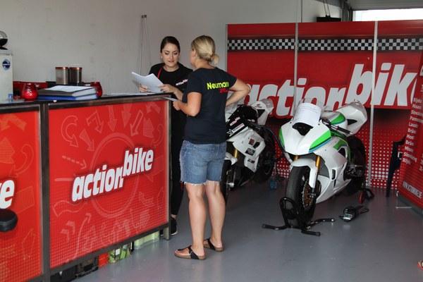 Registration on Track